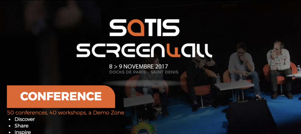 Satis Screen4all WebVR Conference